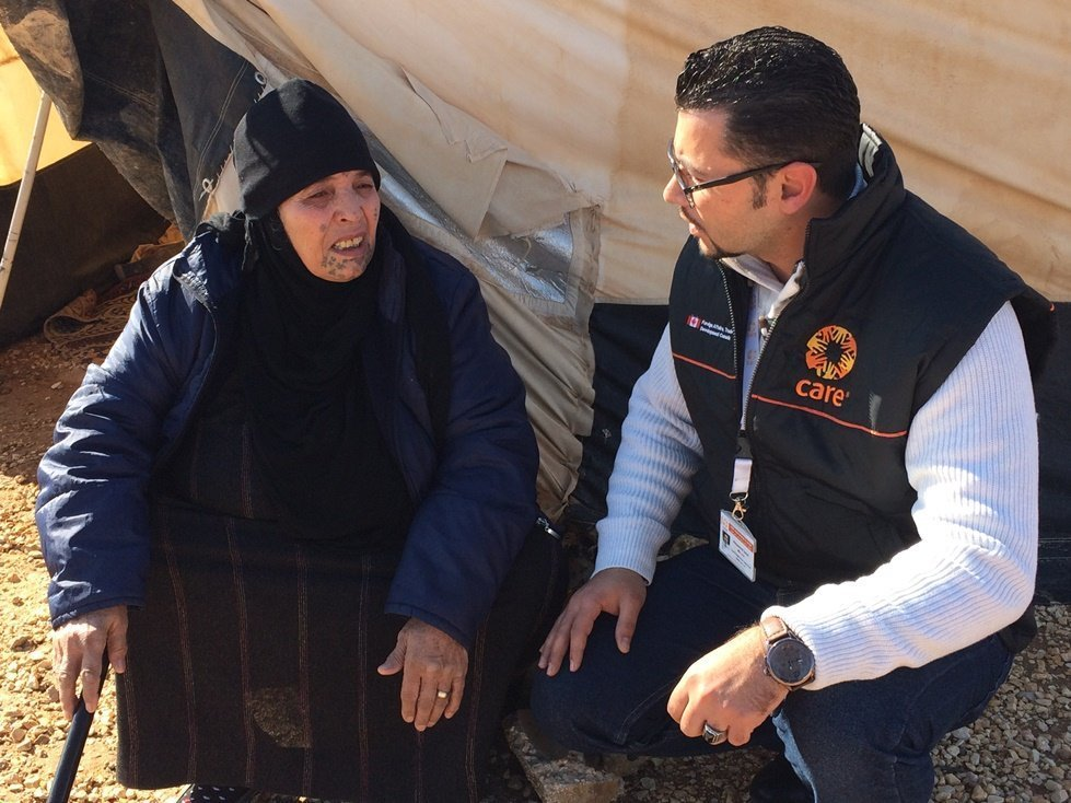 Quot The Time We Dread Quot Surviving Winter As A Refugee Care