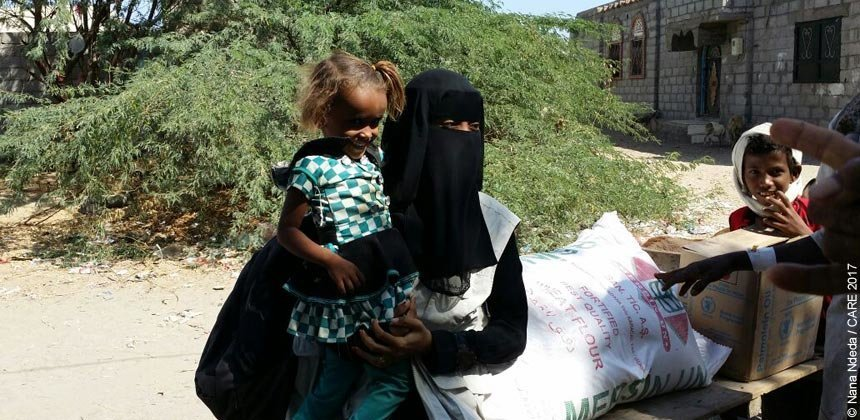 Attia Alsommali is a field officer with CARE Yemen's emergency response