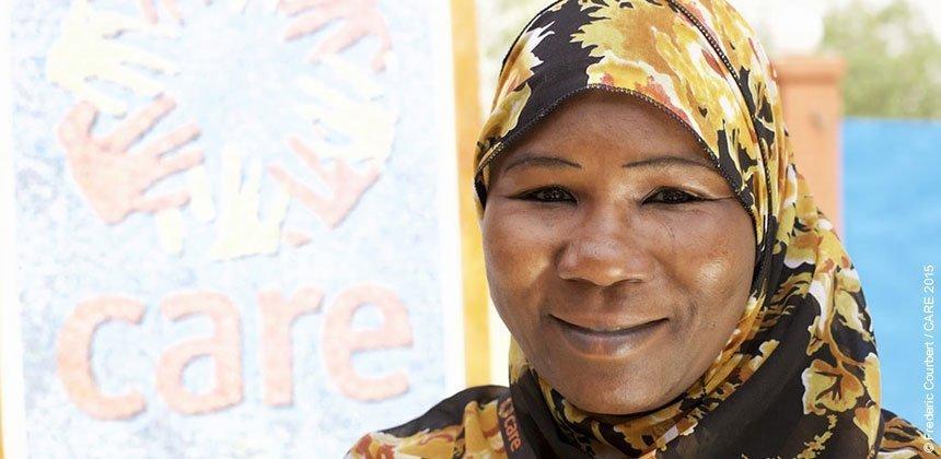 Fatouma Zara Soumana is a gender in emergencies expert with CARE Niger