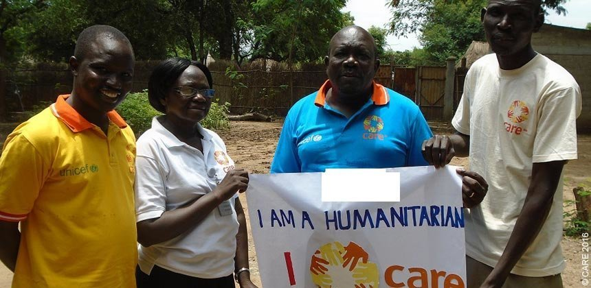 Rachel Chandiru is a gender focal person with CARE South Sudan