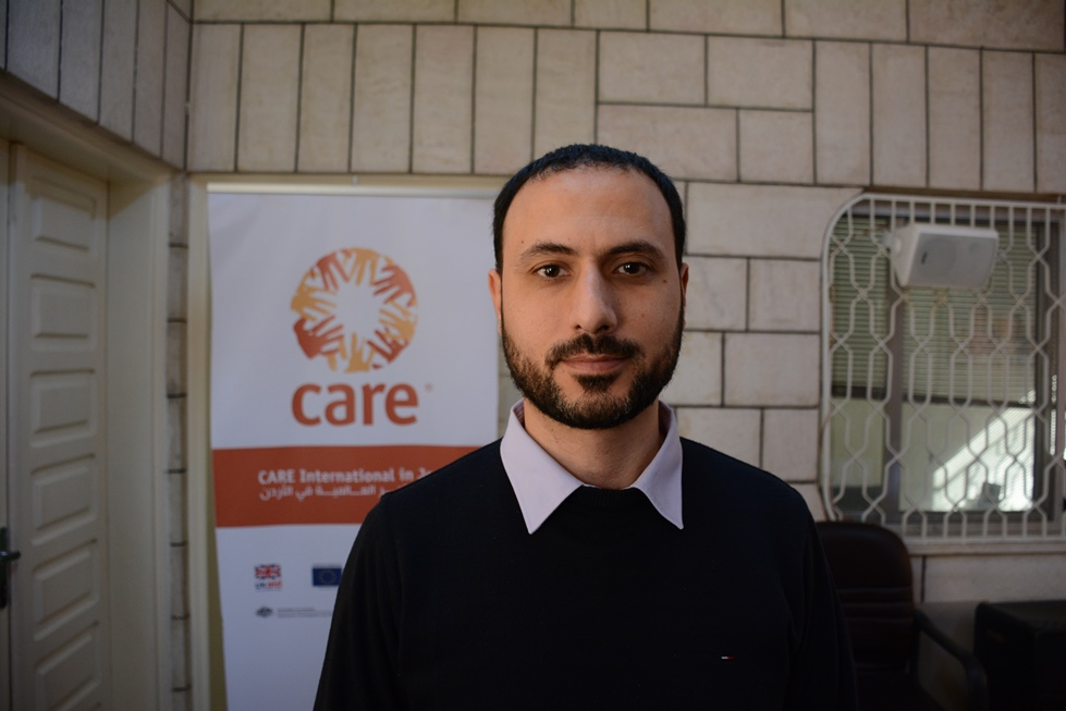 Yaman, a Syrian refugee trying to find work in Jordan