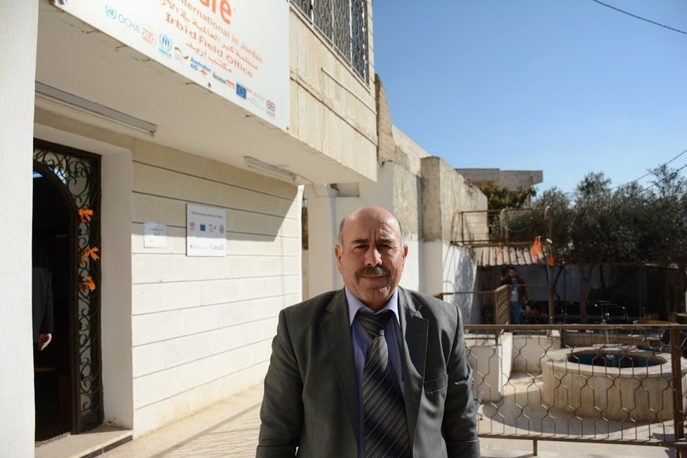 Fayez, a Syrian refugee looking for work in Jordan