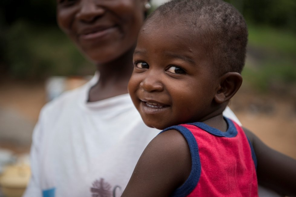 CARE nutrition project in Zambia
