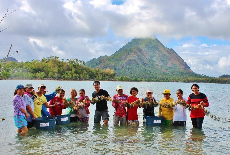 Community association on seaweed production in the Philippines