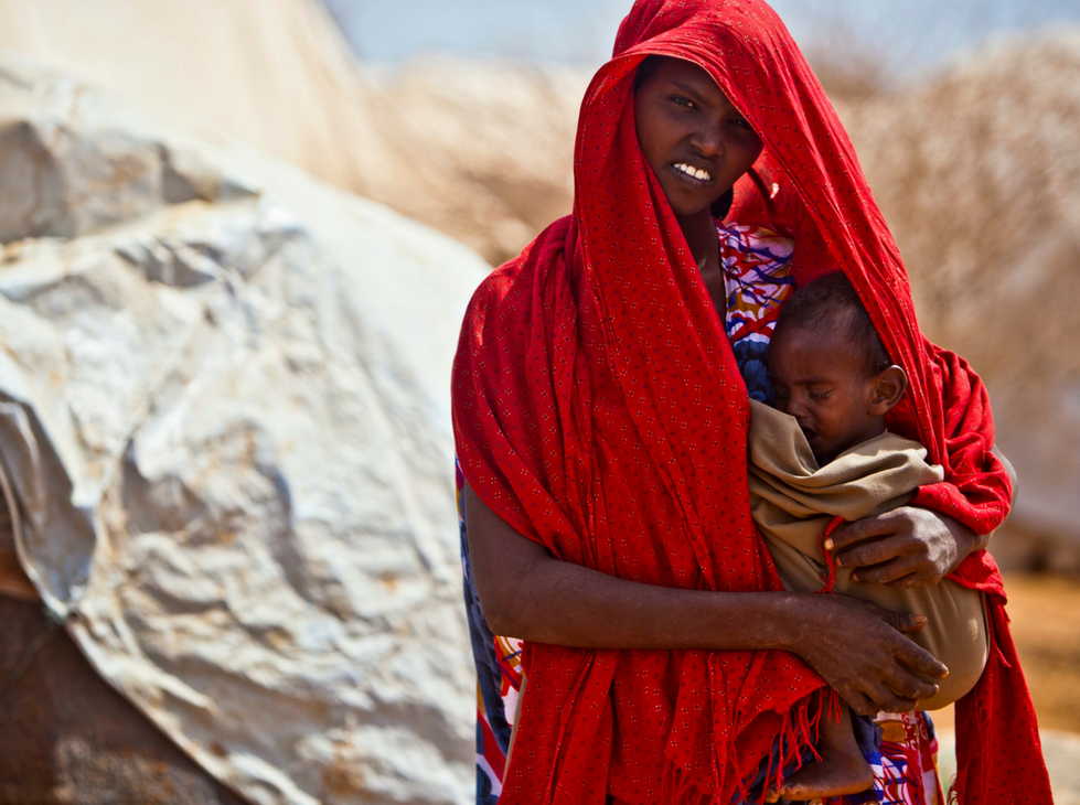 Women and girls are most affected by hunger