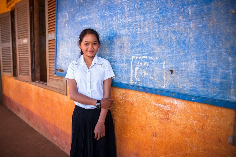 CARE Gifts: Send a girl to school