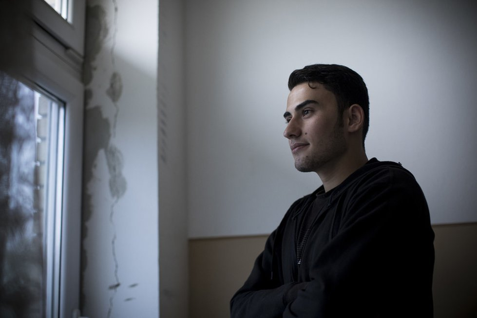 Omar, 17, from Syria