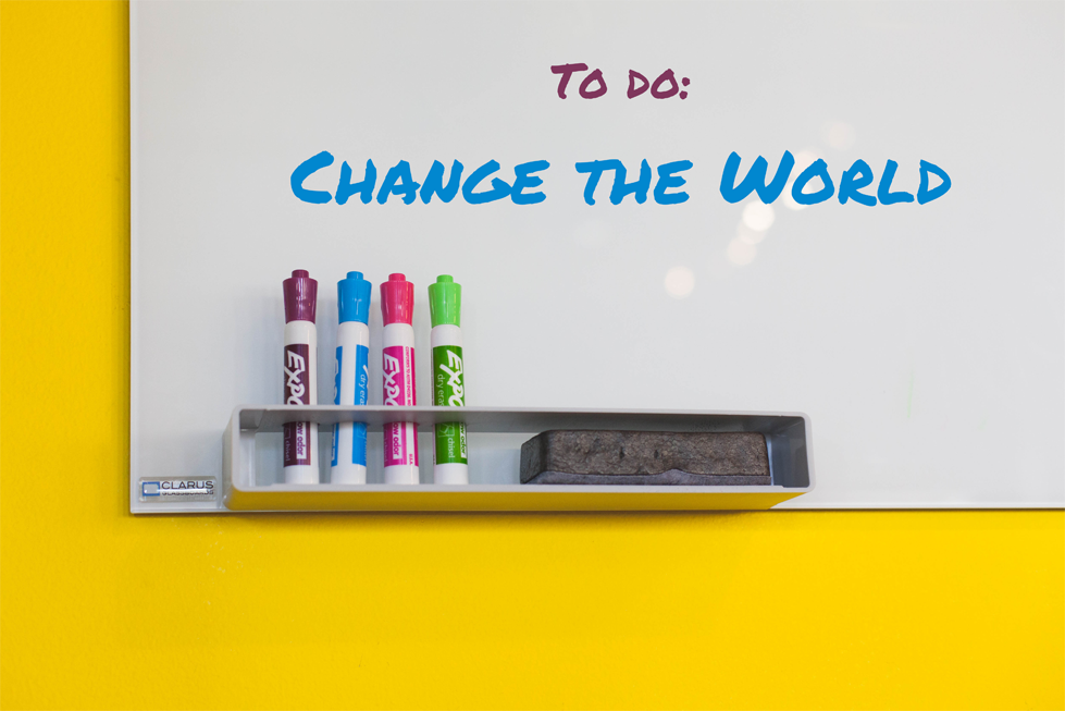 Blog post: 4 ways to change the world...from your couch