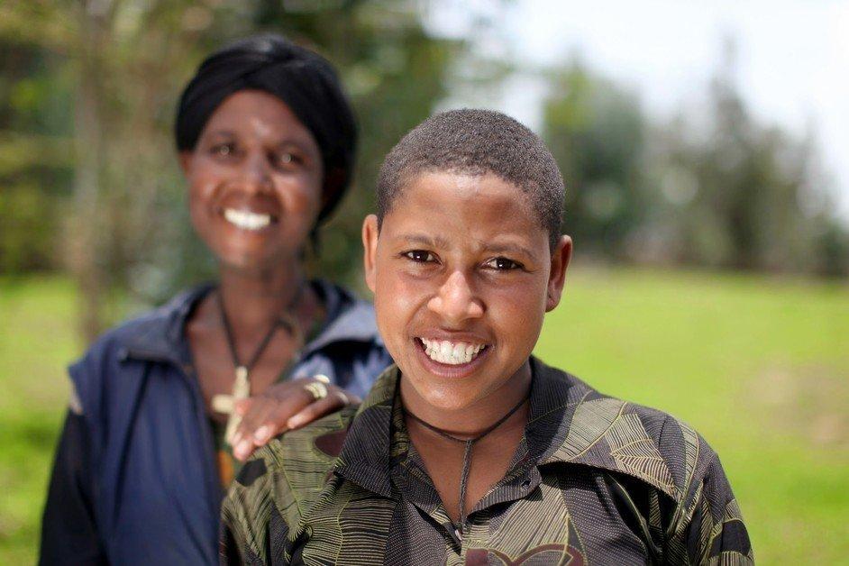 Eleni, from Ethiopia