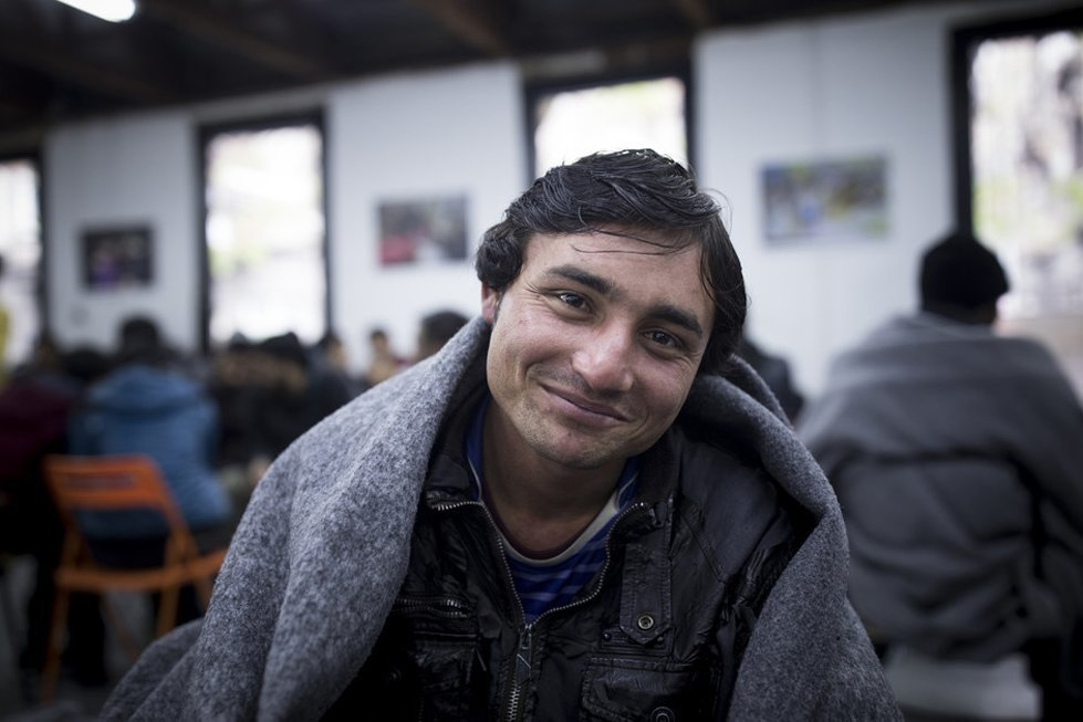 Abdul, 16, from Afghanistan