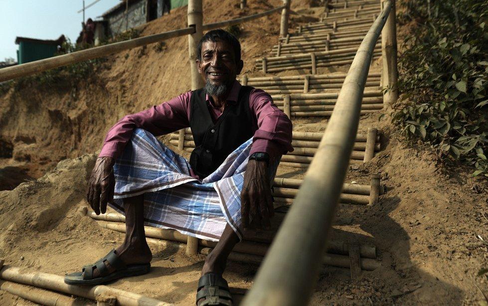 Mohammed, 50, from Myanmar