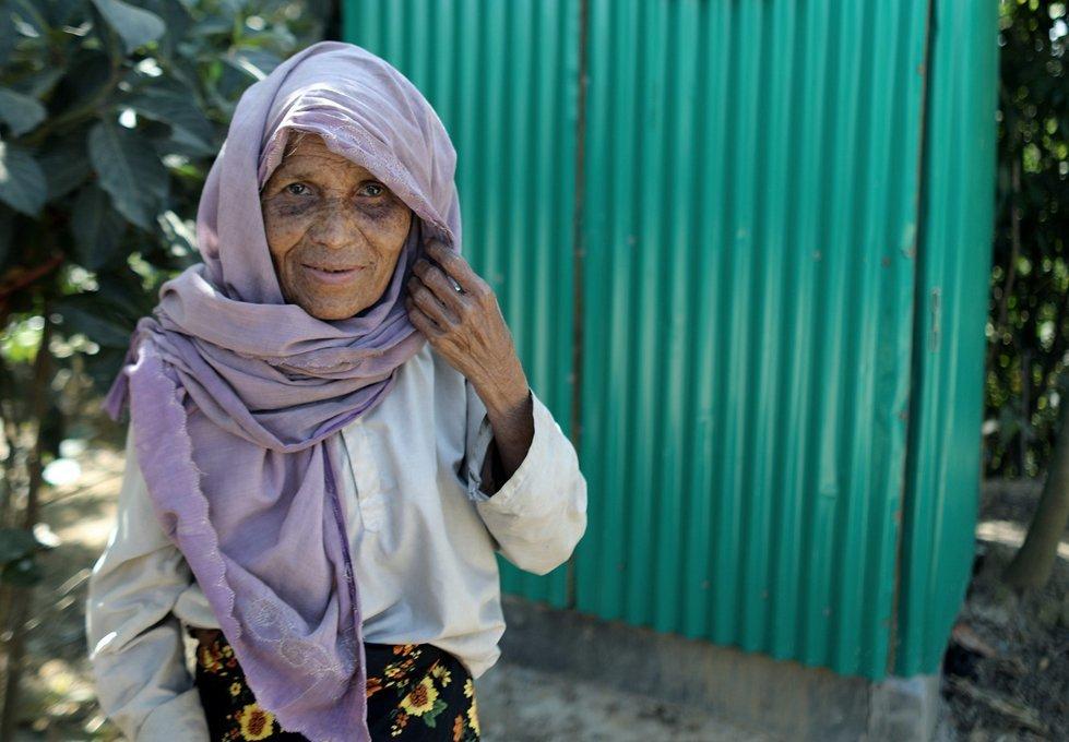 Modina, 60, from Myanmar