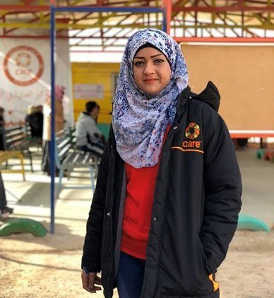 Ann Mazen has been working in Azraq refugee camp since it was created 4 years ago.