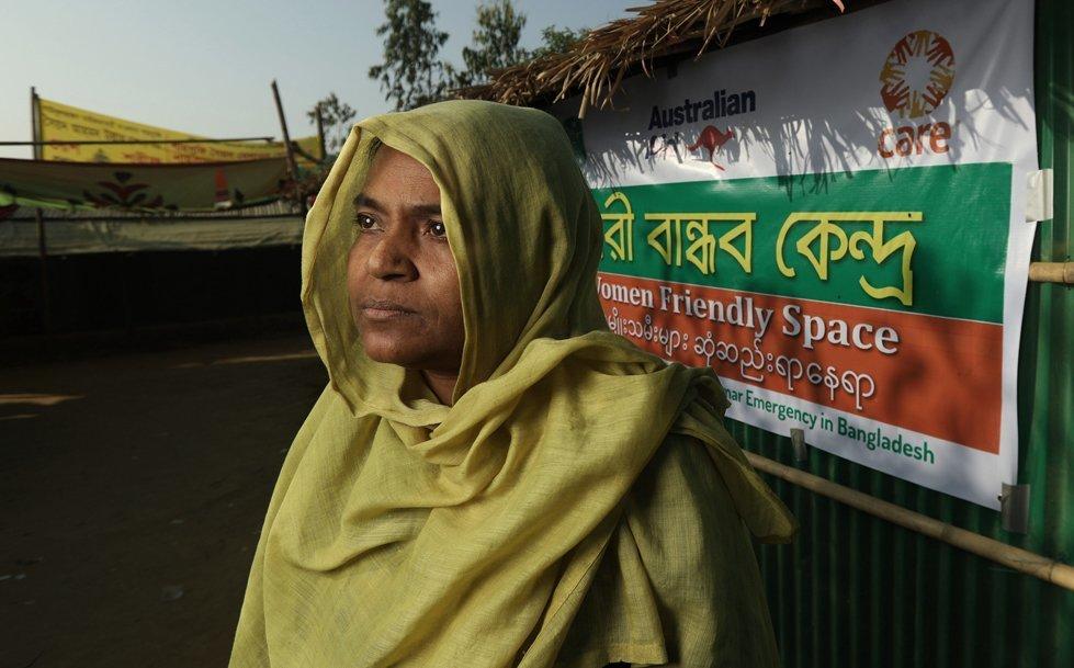 Nur-e-jannat, 35, from Myanmar