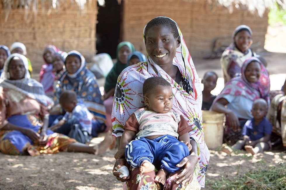 CARE maternal health care project in Tanzania