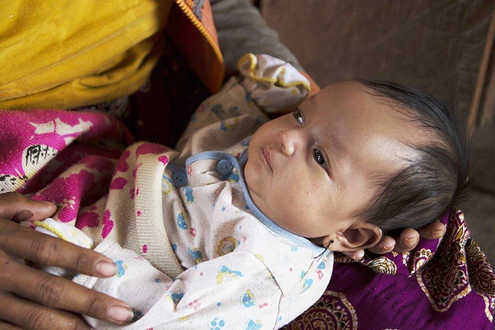 Baby Davit. Photo: Sok Vichheka/CARE