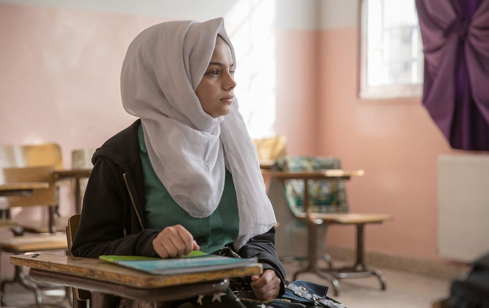 Rafeef is 14 years old, from Syria. She wants to be an architect. Hiba Judeh/CARE