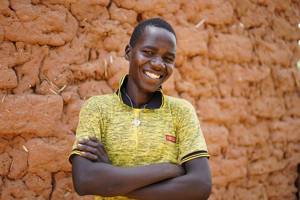 Sabiou is 17 years old, from Niger.