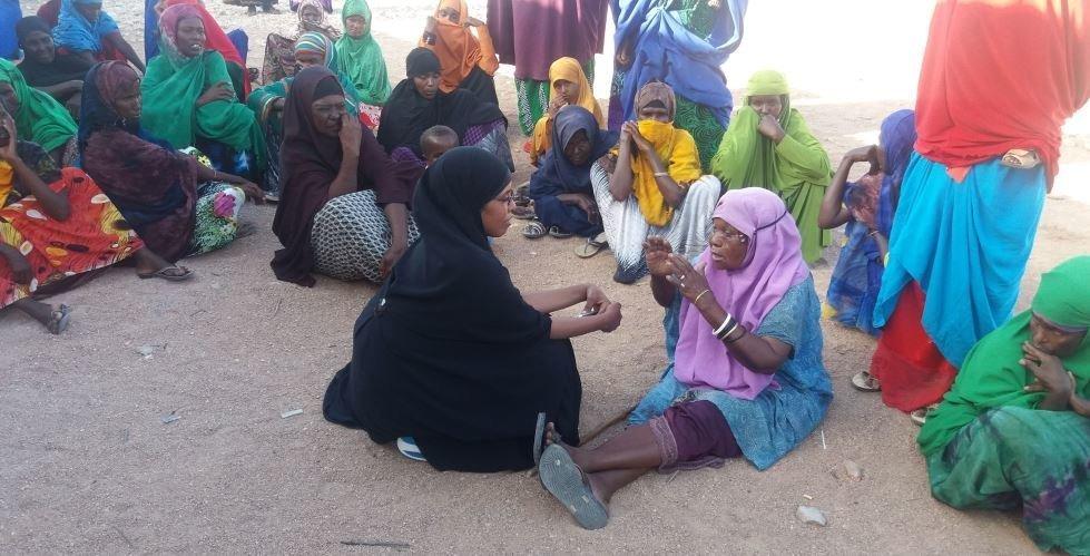 Amrea Shire, CARE's Emergency Program Manager in Somalia