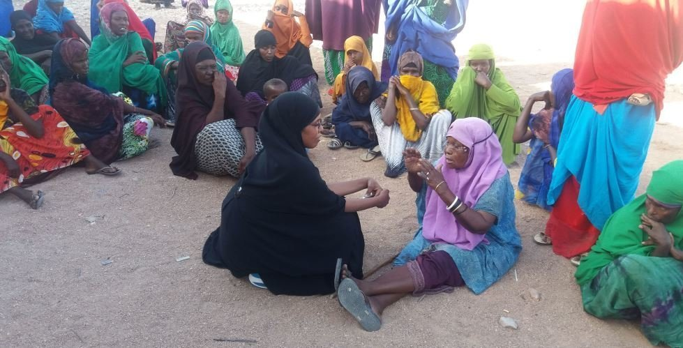 Amrea Shire, CARE's Emergency Program Manager in Somalia