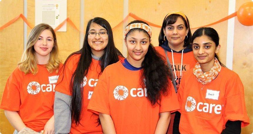 WIHS-girls-orange-tshirts