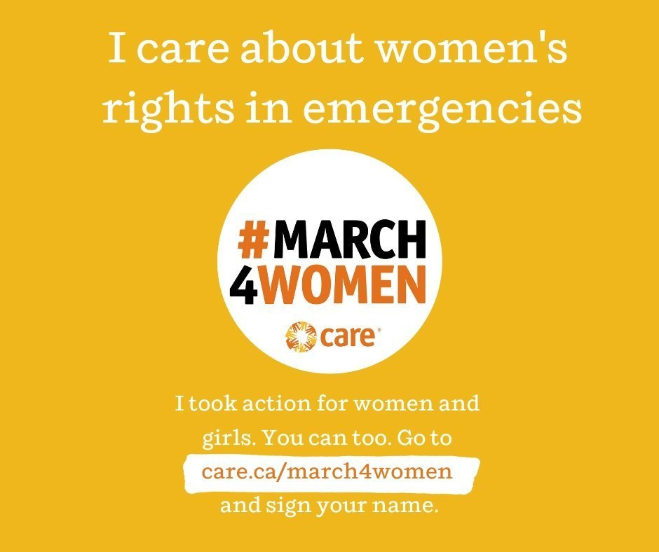 CARE Canada March4Women