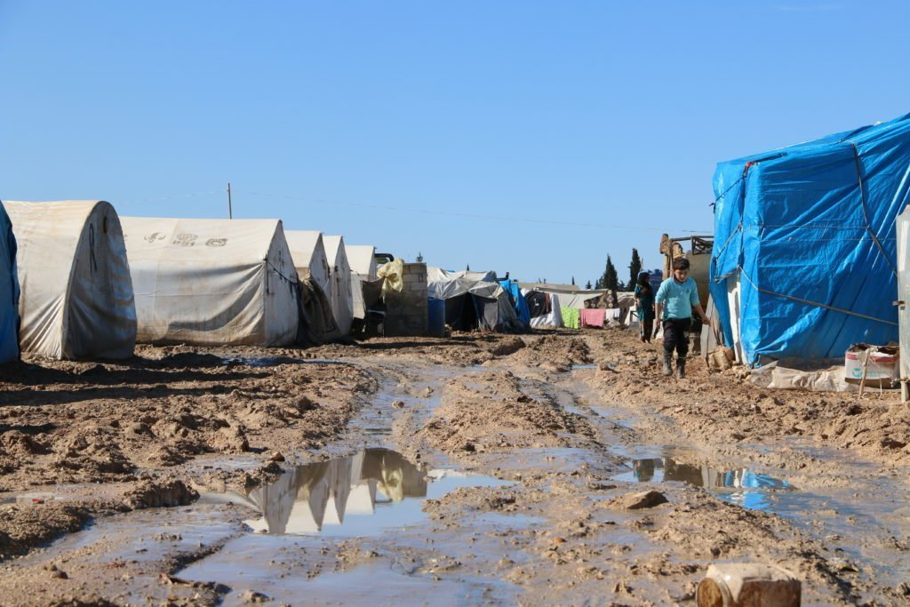 Refugee Camp Syria Photo credit: Violet Organization