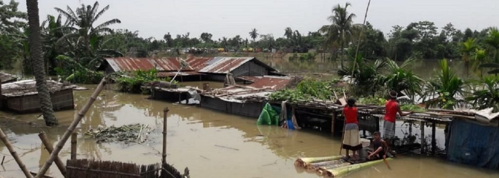 Flooding in India, July 2019