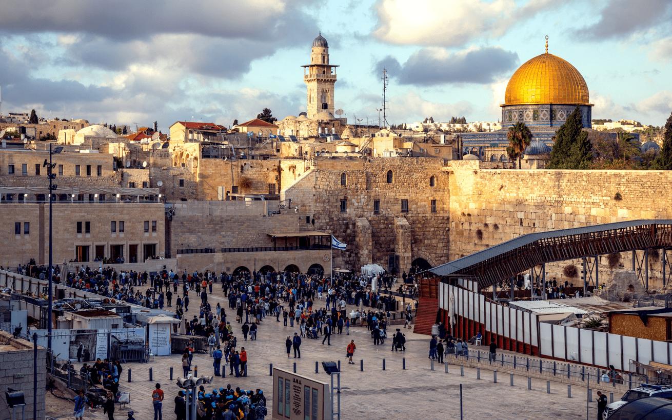 Western Wall, Jerusalem. Photo: Sander Crombach