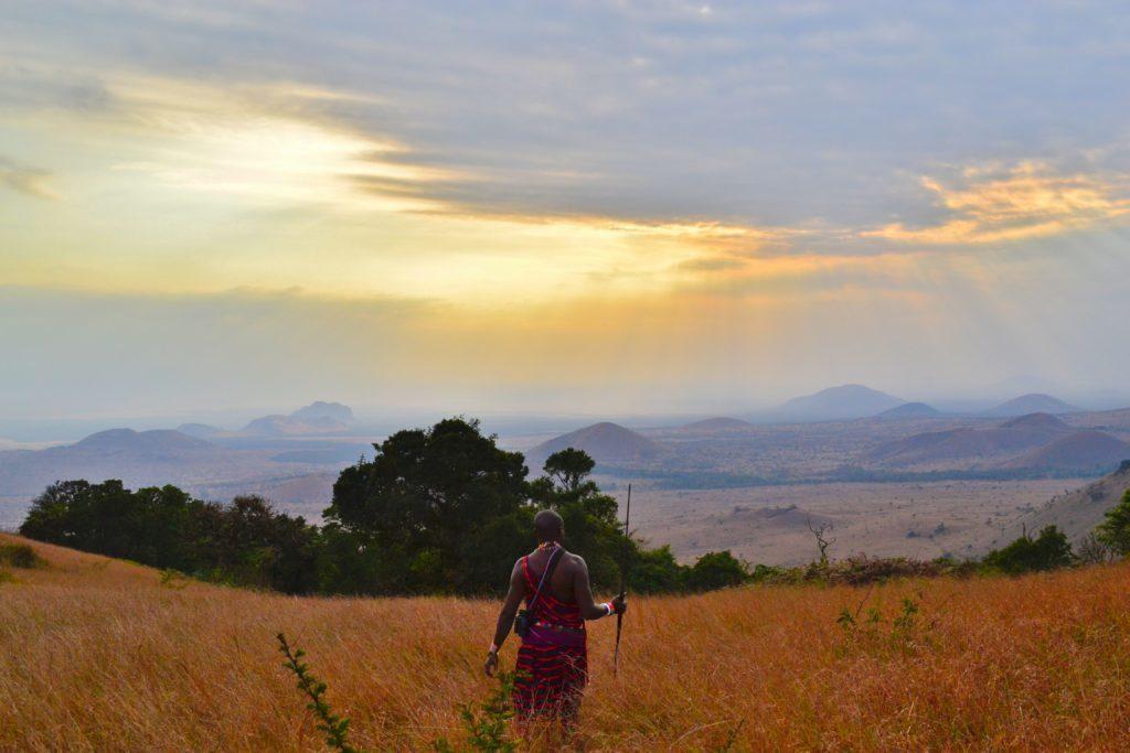 Chyulu Hills, Kenya. Photo: Sho Hatakeyama