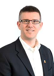 Grant Carioni, acting Vice President, People & Culture