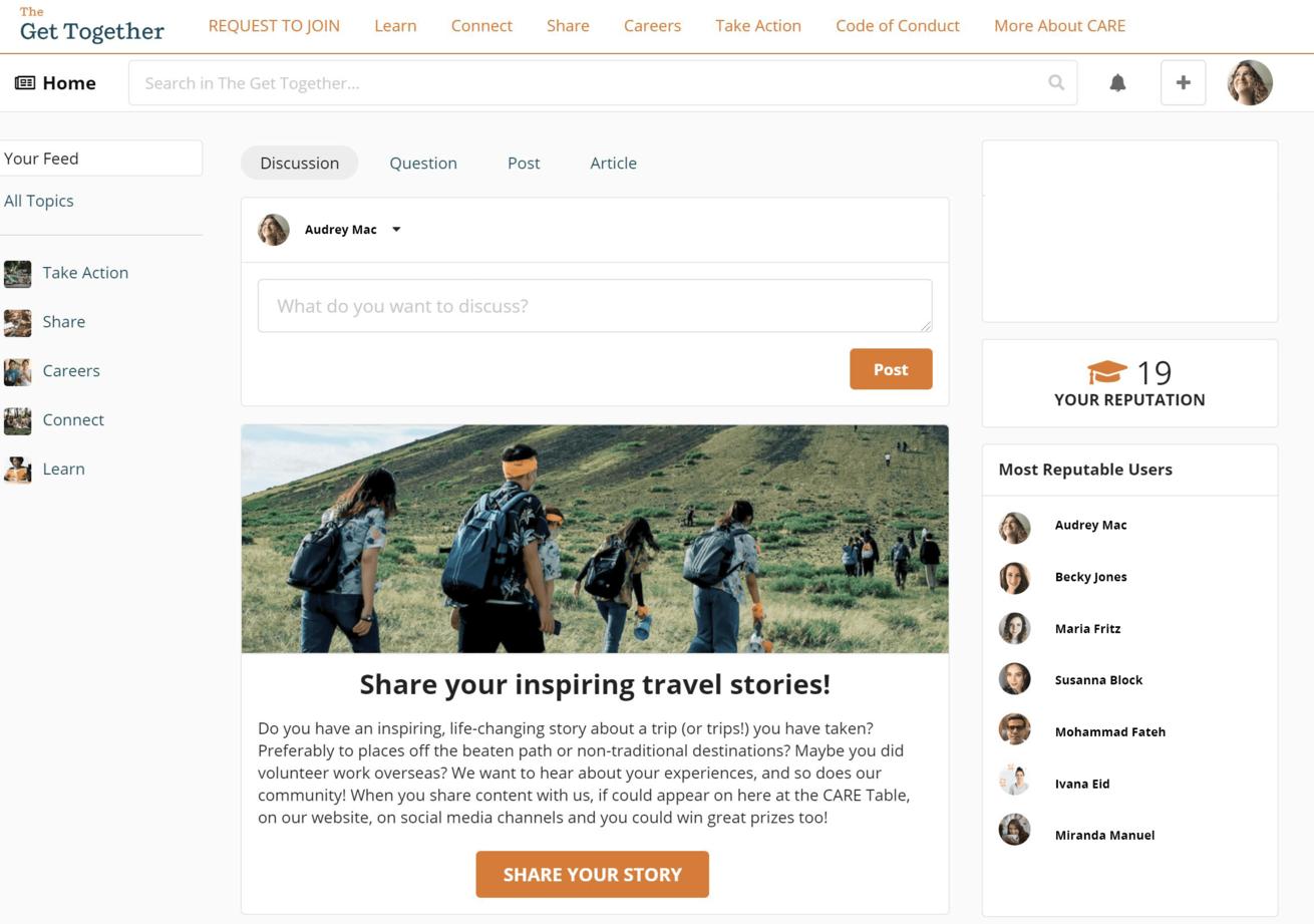 The Get Together online community