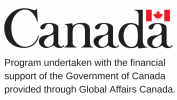Project undertaken with the financial support of the Government of Canada