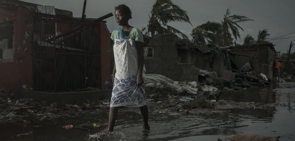 Flooding in Mozambique after Cyclone Idai, 2019