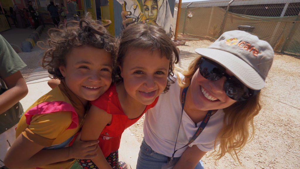 CARE Canada ambassador Annie Murphy travels to Jordan