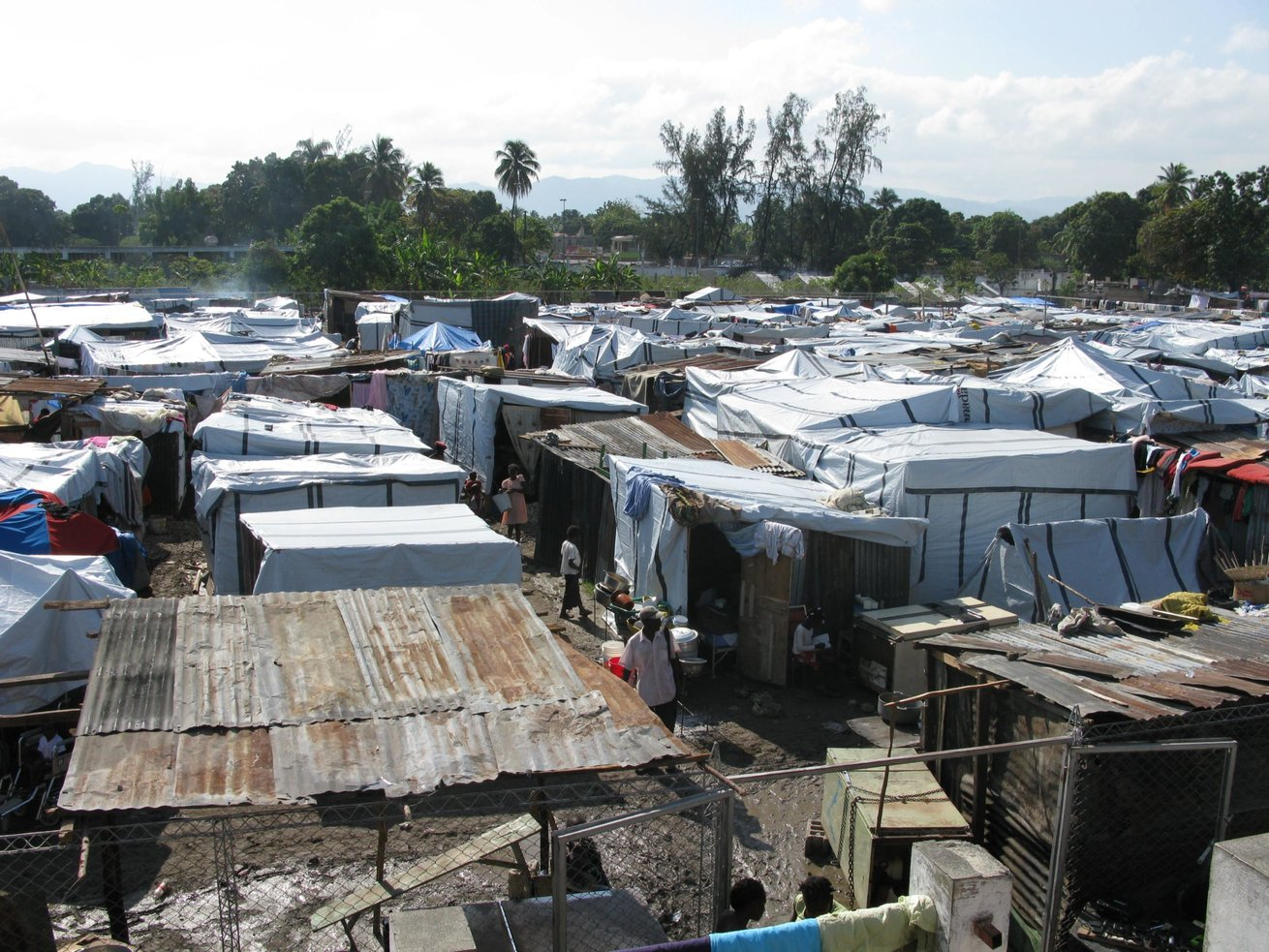 After a terrible earthquake hit Haiti in early 2010.