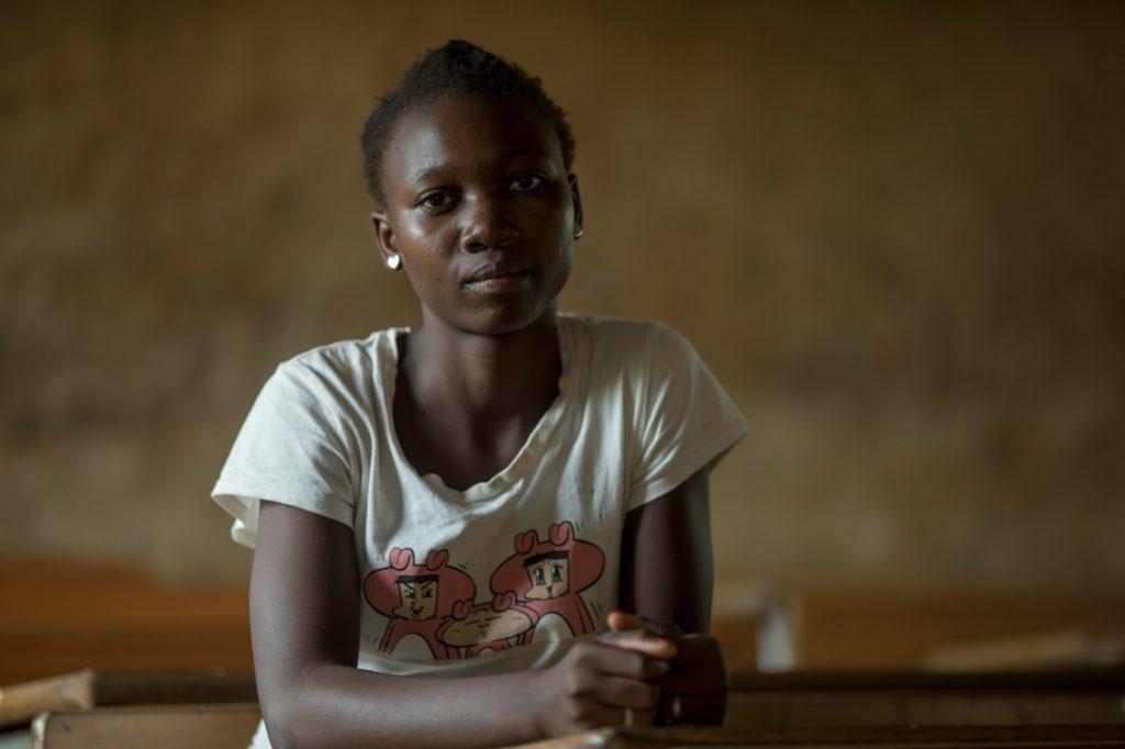 Lurde Luis, 14 in Mozambique