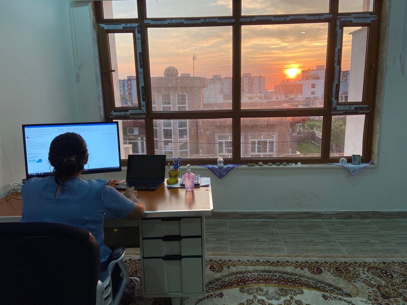 Meet Shanti Chirayath, CARE program officer in Iraq, who recounts the first weeks of lockdown, the challenges of remote programming and what it's like to celebrate one's birthday in times of social distancing.