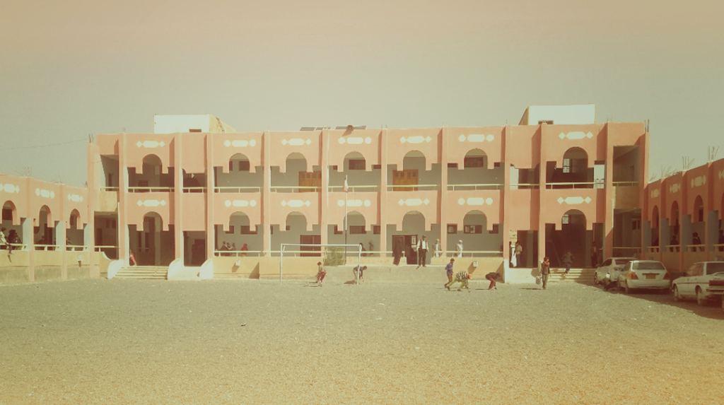 Al-Hareth school, one of the schools that held community dialogues to discuss quality of education at public schools in Yemen.