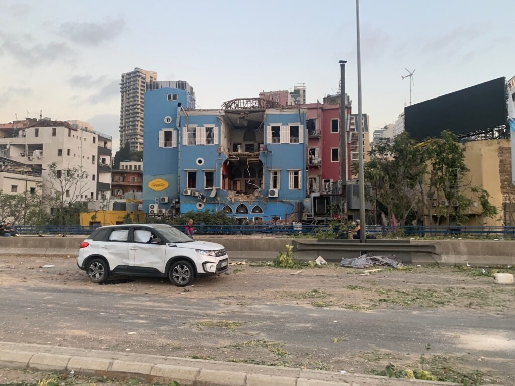 Beirut, Lebanon après l'explosion 4 août 2020
