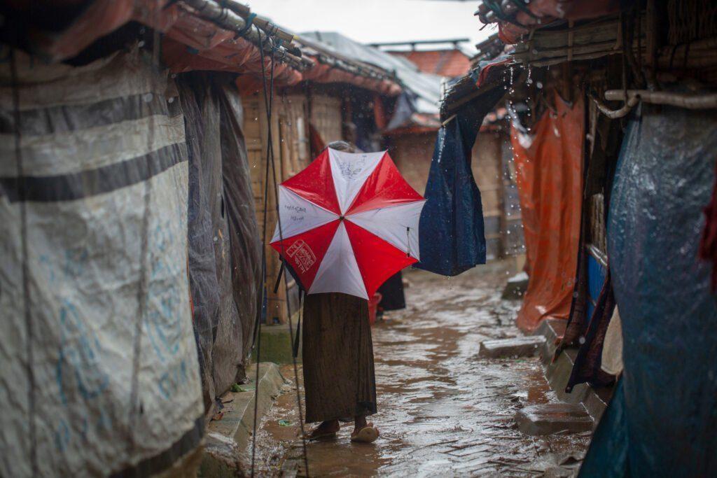 Rohingya Refugee Camp Bangladesh