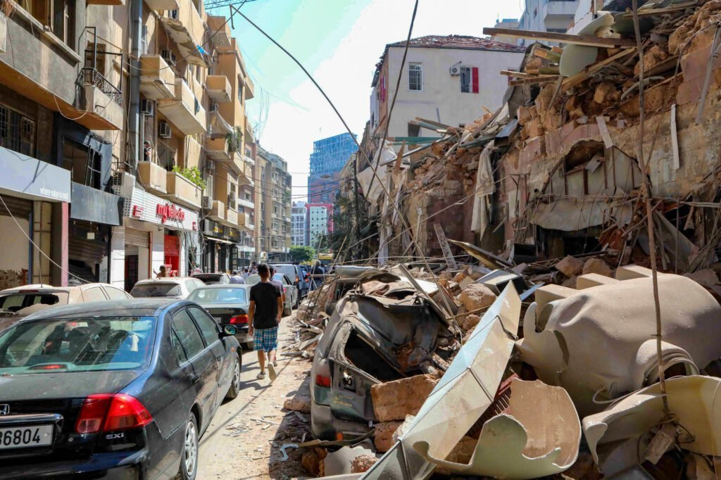 CARE is working on the ground in Lebanon to provide emergency relief services for those affected by the large explosion in Beirut that occurred on August 4th. The devastation and shattered buildings seen here were photographed on August 7, 2020.