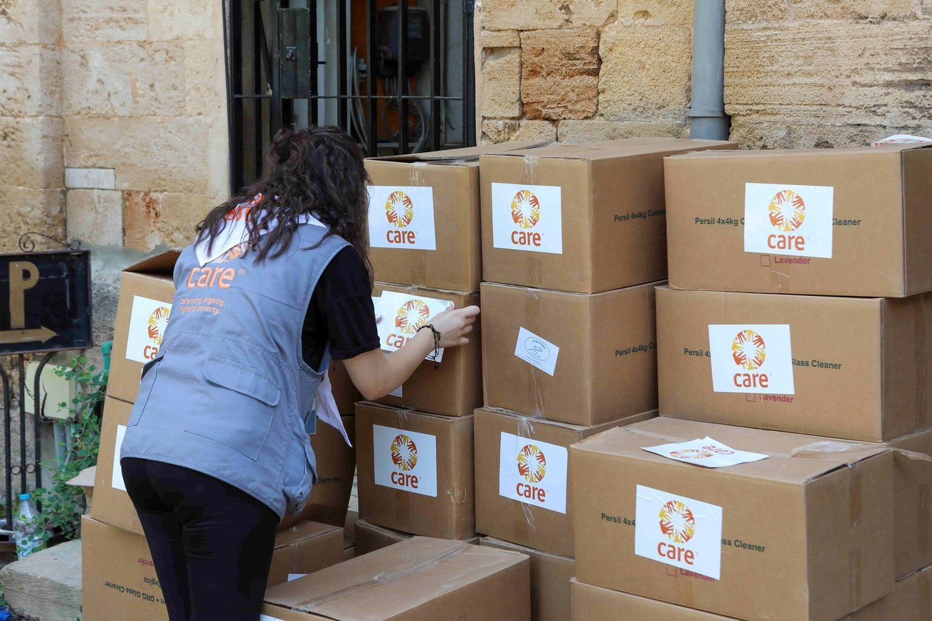 CARE Packages for those affected by the explosions in Beirut, Lebanon