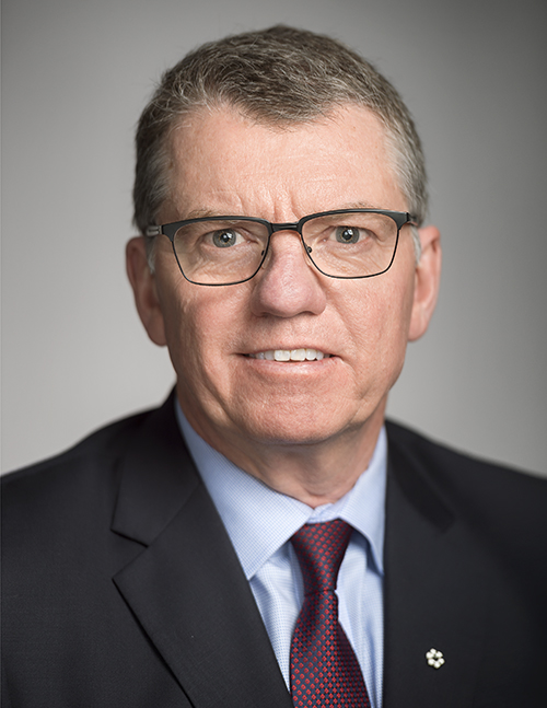 David H. Turpin, CM, FSRC, CARE Canada Board Member