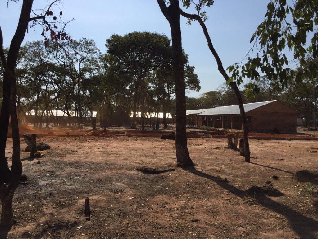 Mantapala refuge camp, Zambia