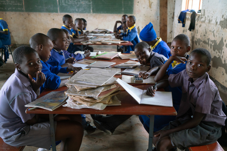 Runesu Primary School in Zimbabwe, where CARE has been supporting a pilot project to enhance the nutrition and access to education of its students.