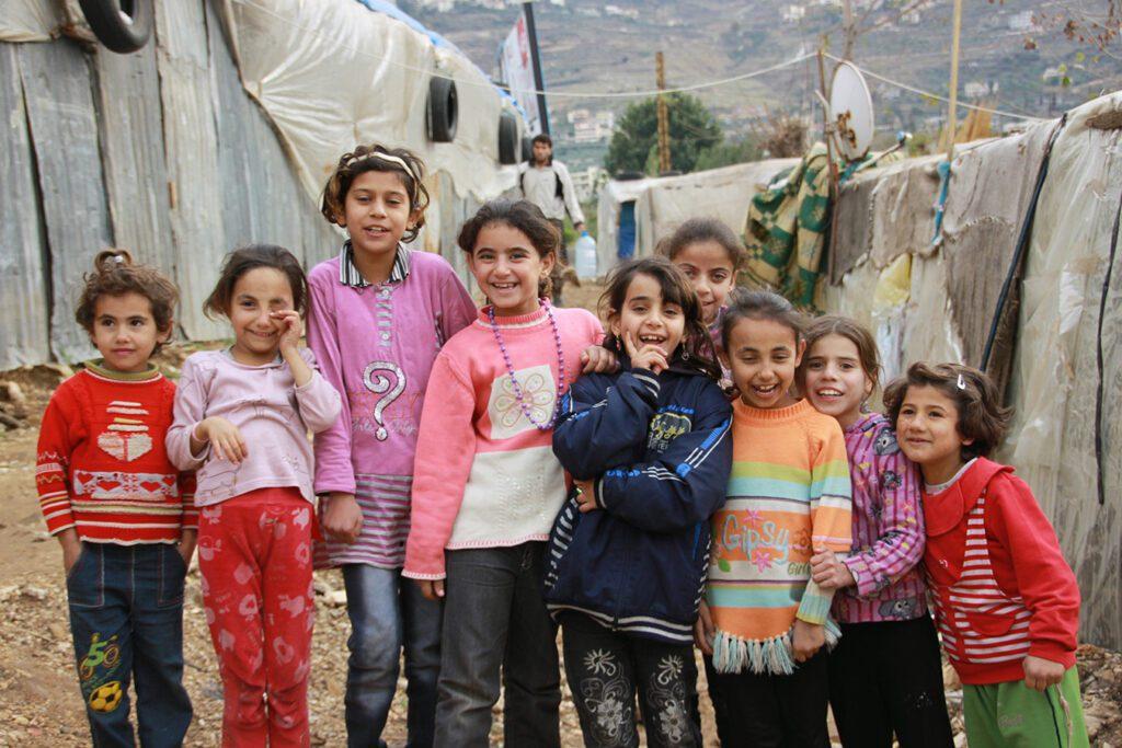Girls in Mount Lebanon