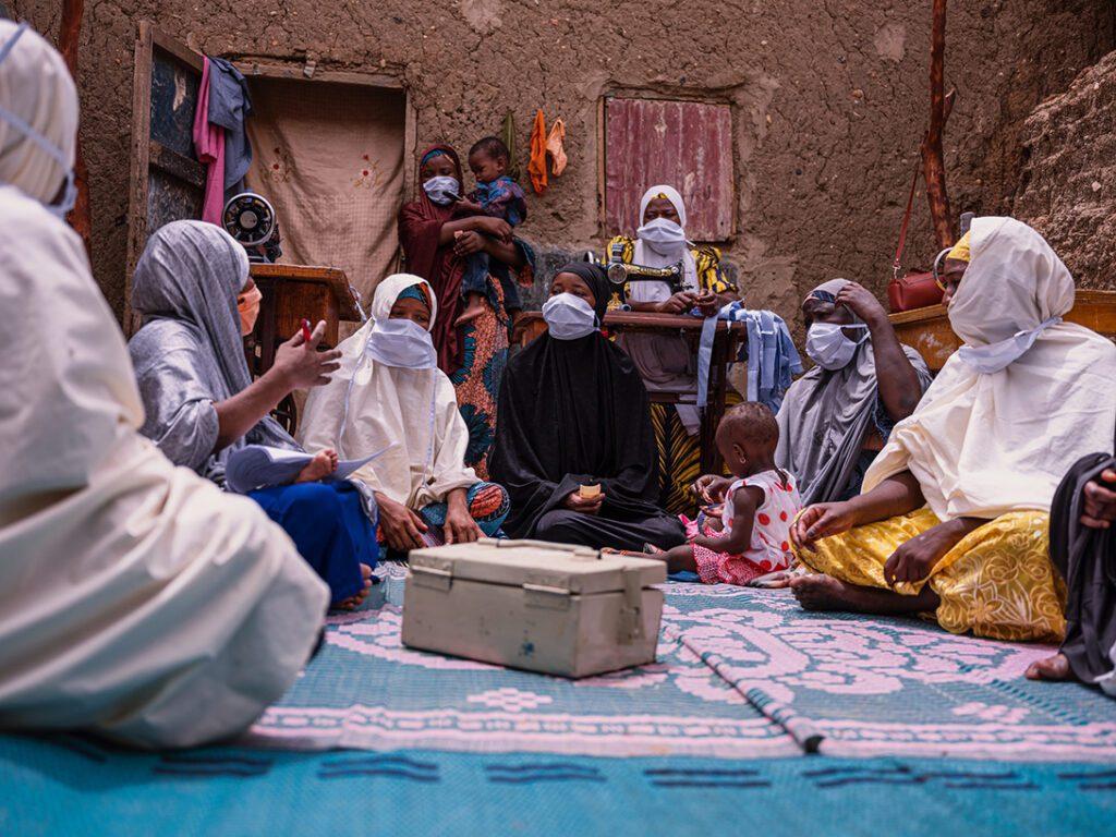 Savings group Kyauta Mata in Niger.