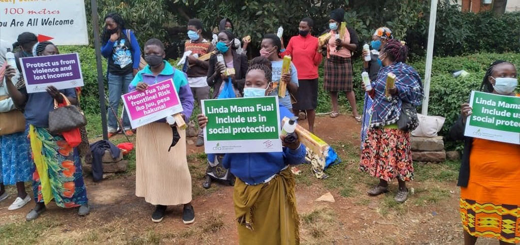 CARE's Women's Voice and Leadership work in Kenya
