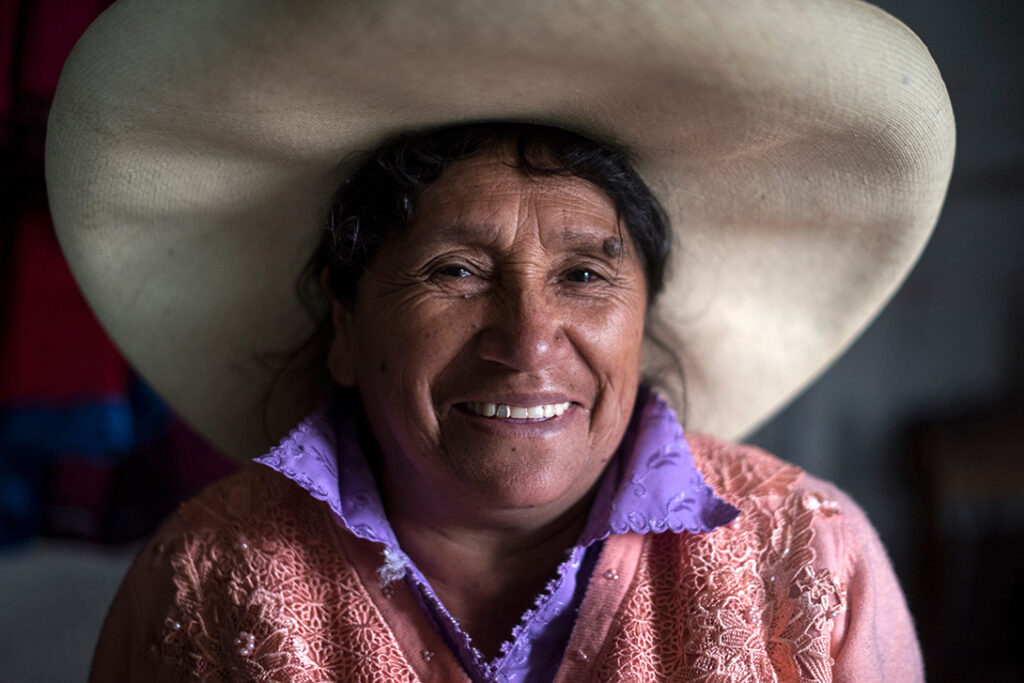 Genara run a small business from her home in Huamahuco, Northern Peru